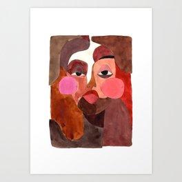 Fragments #1 Art Print