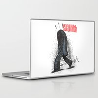 sasquatch Laptop & iPad Skins featuring Sasquatch by Sergi Ferrando