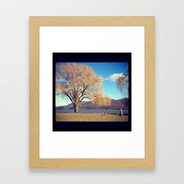 Cornwall-on-Hudson in New York Framed Art Print