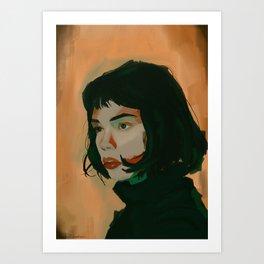 Josette Art Print
