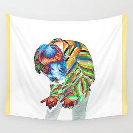 Rainbow Requiem Wall Tapestry