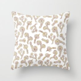 Joshua Tree Bricks by CREYES Throw Pillow