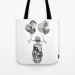INCOGNITO FIGHT by Mady Thieme Tote Bag