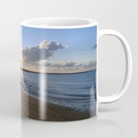cape cod Mugs featuring Cape Cod  by Plush Deesigns