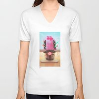arnold V-neck T-shirts featuring Arnold by Flester