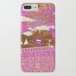 MORNING PSYCHEDELIA (Purple/pink) iPhone Case