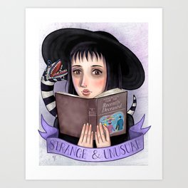 I Myself, Am Strange & Unusual Art Print