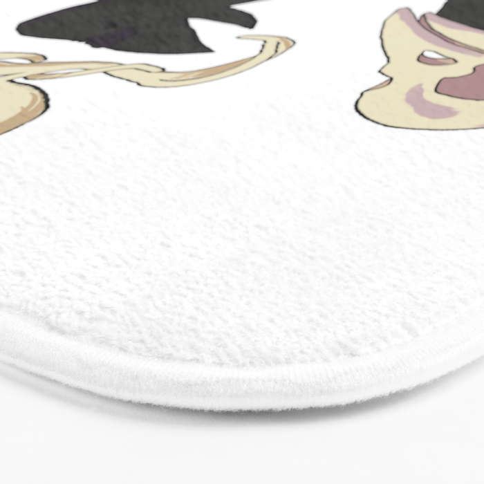 To Be or Not to Be Bath Mat