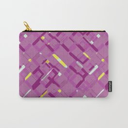 Urban purple Carry-All Pouch