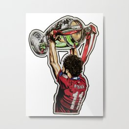 Mo - European Champion Metal Print