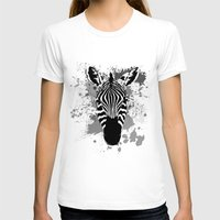 splatter T-shirts featuring Splatter Stripes by AdamAether