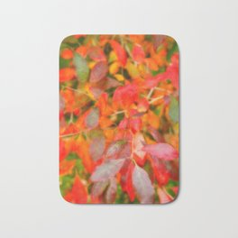 Autumn foliage Bath Mat