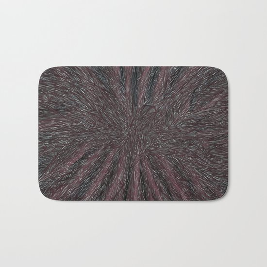 Abstract - Raven Flow. Bath Mat