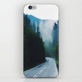 The Winding Road iPhone Skin