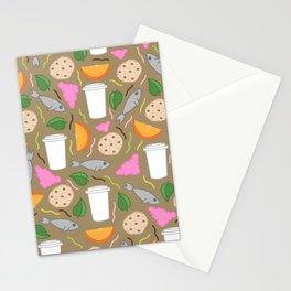 Snack Snack Stationery Cards