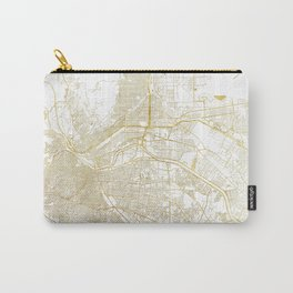 El Paso Map Gold Carry-All Pouch