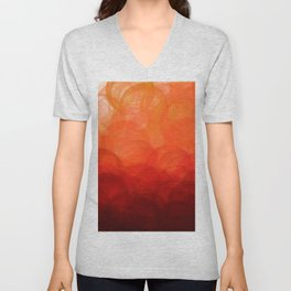 Sunset Globes Unisex V-Neck