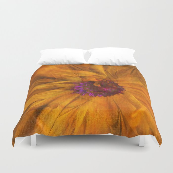 The Beauty of Maturity Duvet Cover