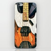 bass iPhone & iPod Skins featuring Elvis' Bass by ADH Graphic Design