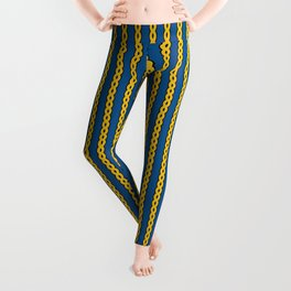 Gold Chain Curtain Leggings