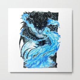 The Necromancer Metal Print