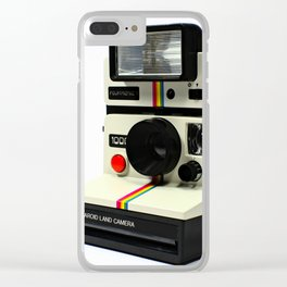 Instant Camera Clear iPhone Case