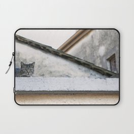 Cat on the Roof Laptop Sleeve