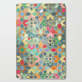 Gilt & Glory - Colorful Moroccan Mosaic Cutting Board