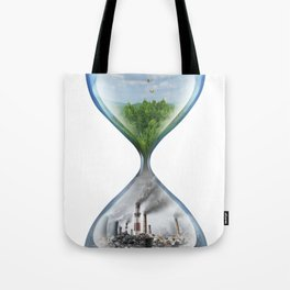 Climate Change Environmental Global Warming Tote Bag