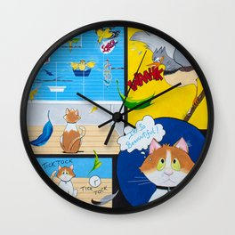Zipper's Paradise Wall Clock