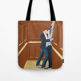 what is it about elevators? Tote Bag