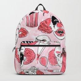 halloween clown pattern Backpack