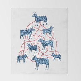 Cows Throw Blanket
