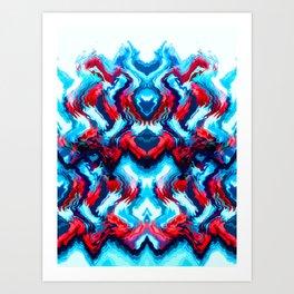THRILLSEEKER Art Print