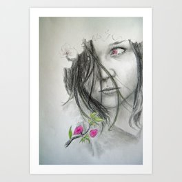 Spring is not Happy Art Print