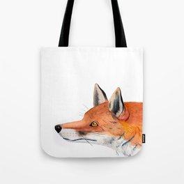 Red fox portrait Tote Bag