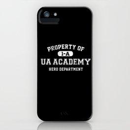 Property of UA Academy iPhone Case