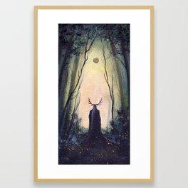 The Forest King Framed Art Print