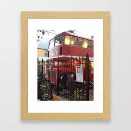 The Coffee Bus Framed Art Print