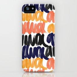 amorcito iPhone Case