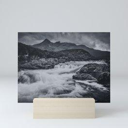 One Day in the Mountains II Mini Art Print