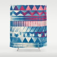 ice cream Shower Curtains featuring Ice Cream by acefecoo