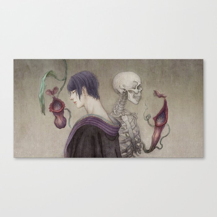 When the Incarnation Comes to Collapse Canvas Print