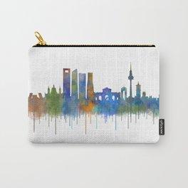Madrid City Skyline HQ v4 Carry-All Pouch