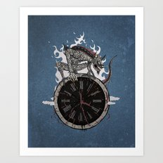 Guardian of Time Art Print