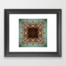 The Square Root Framed Art Print