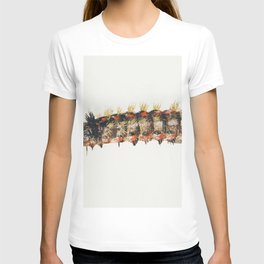 Caterpillar from Sheet of Studies of Nine Insects (1660-1665) by Jan van Kessel T-shirt