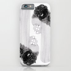 selene and eos (black and white) iPhone 6s Slim Case