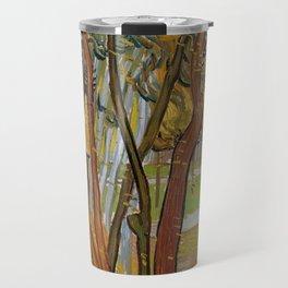 Vincent van Gogh - The garden of Saint Paul's Hospital Travel Mug
