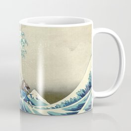Katara Riding the Wave Coffee Mug